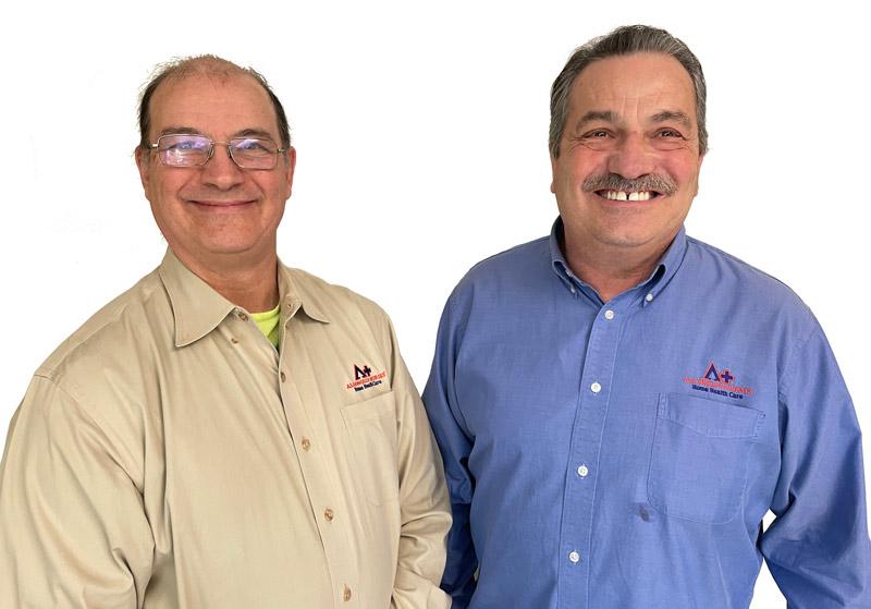 Photo of Steve and Mark Tamboli